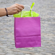 Stock Photo: Pink Shopping Bag