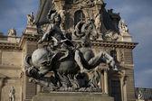 Louis XIV Monument, Paris — Stock Photo