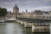 Pont des arts brug, parijs — Stockfoto