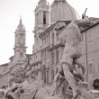Piazza Navona Square, Rome - Stock Photo