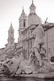 Piazza Navona Square, Rome — Stock Photo