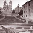 在罗马,意大利西班牙步骤 — 图库照片