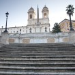 Spanish Steps in Rome, Italy — 图库照片
