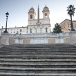 Stock Photo: Spanish Steps in Rome, Italy