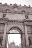 Popolo Gate, Rome — Stock Photo
