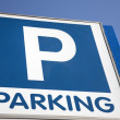 Stock Photo: Parking Sign