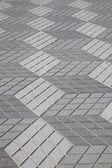 Diamond Shape Pavement — Stock Photo