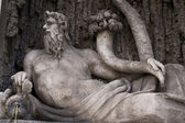 Quattro Fontane - Four Fountains, Rome — Stock Photo