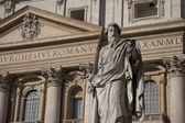 Statue of St Paul, Vatican, Rome — Stock Photo