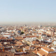 Panoramic photo of old part of Madrid, Capitol of Spain. View fr — Stock Photo