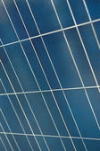 A photo of a nice solar panel texture at Science Museum of Valen — Stock Photo