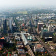 Beautiful view of Bangkok, Thailand From Baiyoke Sky Hotel — Stock Photo