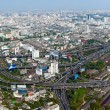 Beautiful view of Bangkok, Thailand From Baiyoke Sky Hotel - Stock Photo