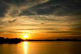Putrajaya sunset — Stock Photo