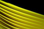 Blurred yellow paper background II — Stock Photo
