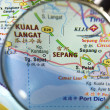 Magnifying Sepang — Stock Photo