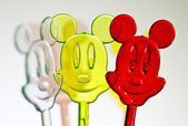 Three colorful mice — Stock Photo