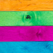 Multicolor wood background IV — Stock Photo
