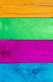 Multicolor wood background V — Stock Photo