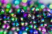 Perle blu astraggono sfondo ii — Foto Stock