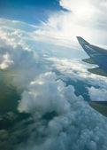 Clouds over Sumatra Island — Stock Photo