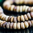 Wooden tasbih beads II — Stock Photo