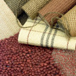Samples of color of a carpet — Stock Photo #7647263