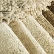 Samples of color of a carpet — Stock Photo