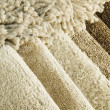 Stock Photo: Samples of color of carpet