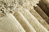 地毯的颜色样本 — 图库照片