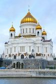 Cathedral of Christ the Saviour in Moskow — Stok fotoğraf