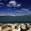 Italy, Sicily, Mediterranean Sea, the port of Scoglitti — Stock Photo #6757649