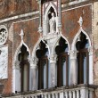 Italy, Venice, Murano Island, decorated windows — Stock Photo