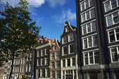 Holland, Amsterdam, old stone buildings — Stock Photo