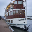 Stock Photo: Holland, Amsterdam, floating restaurant in a canal