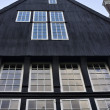 Stock Photo: Holland, Amsterdam, facade of old private house