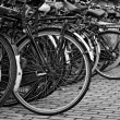 Holland, Amsterdam, bicycles parking near the Central Station — Stock Photo #7229771
