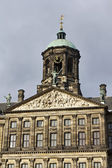 Holland, Amsterdam, Dam Square, the Royal Palace facade — Stock Photo