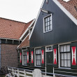 Holland, Volendam village, typical old dutch stone house - Stock Photo
