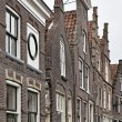 Holland, Edam village (Amsterdam), typical dutch stone houses — Stock Photo