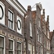 Stock Photo: Holland, Edam village (Amsterdam), typical dutch stone houses