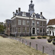 Stock Photo: Holland, Edam village (Amsterdam), typical dutch stone house