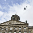 Holland, Amsterdam, Dam Square, the Royal Palace — Stock Photo