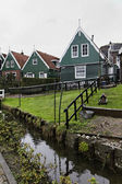 Holland, Marken (Amsterdam), typical dutch stone houses — Foto de Stock