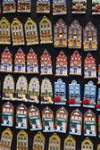 オランダ、アムステルダム、ミニチュア オランダ住宅販売 — ストック写真