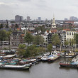 Holland, Amsterdam, panoramic view of the city — Stock Photo #7361498