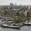 Holland, Amsterdam, panoramic view of the city — Stock Photo #7361601