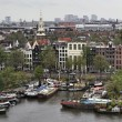 Holland, Amsterdam, panoramic view of the city — Stock Photo #7361618
