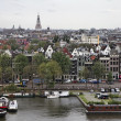 Holland, Amsterdam, panoramic view of the city — Stock Photo #7361653