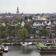 Holland, Amsterdam, panoramic view of the city — Stock Photo